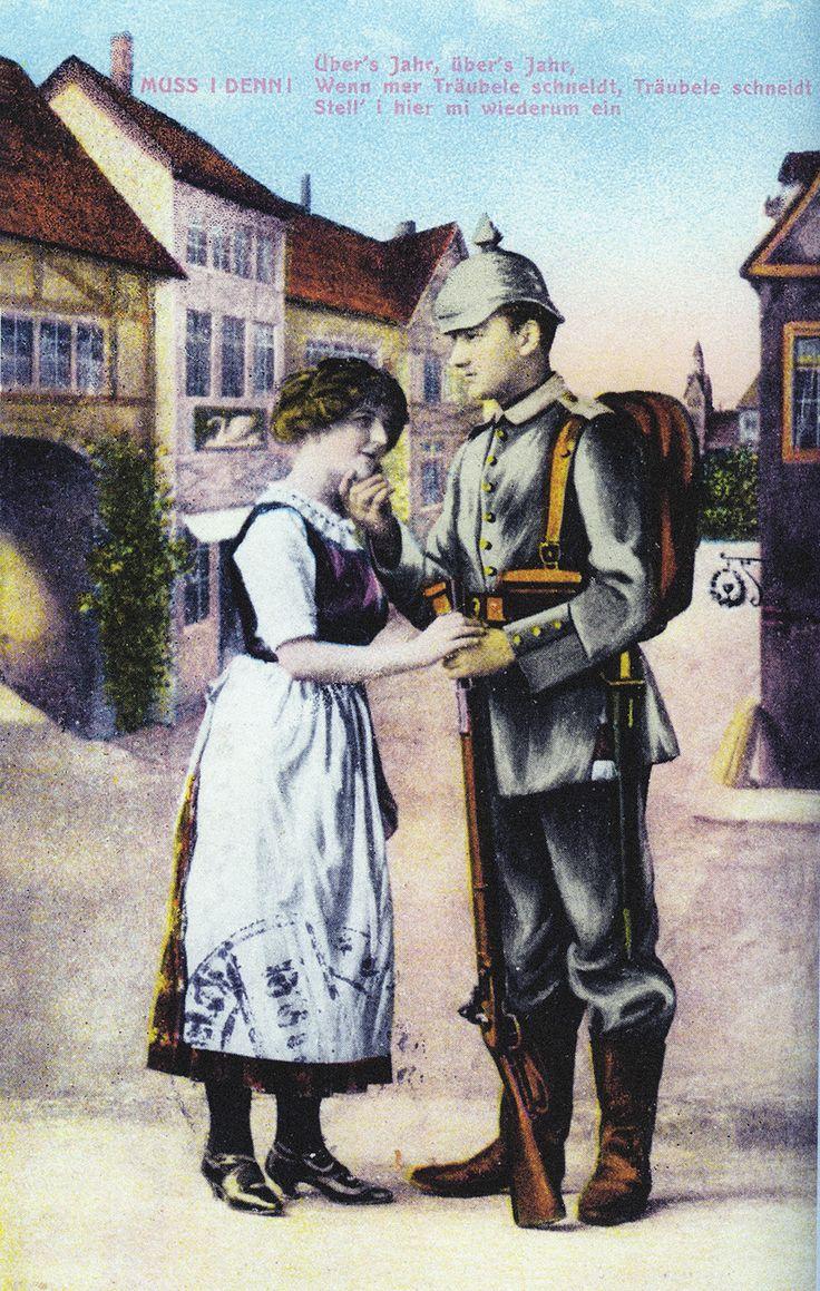 Carte postale allemande