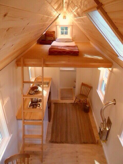 small house design ideas - Small House With Attic