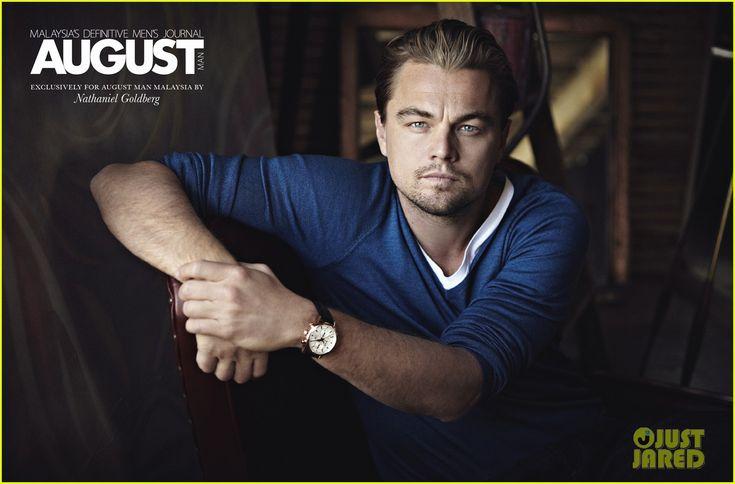 Leonardo DiCaprio - Cover 'August Man' February 2013