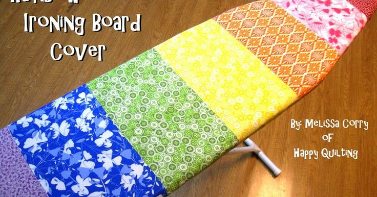 I finished up my little Christmas present to myself . . . A new Rainbow Ironing Board Cover!!! Squeal!!!  Ohh, I can't tell you how much I ...