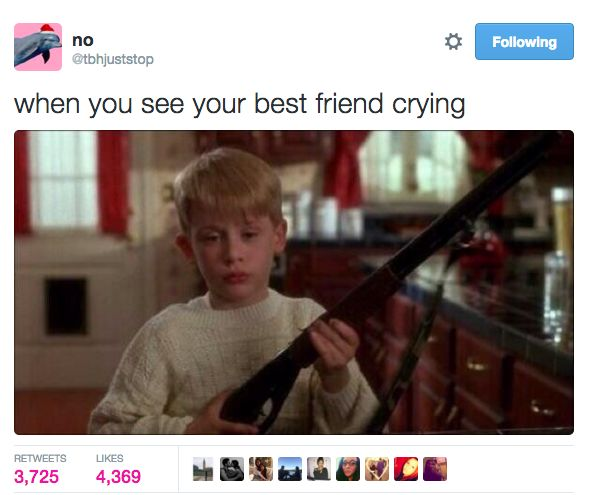 When you have each other's backs: | 18 Pics That'll Make You Miss Your Best Friend