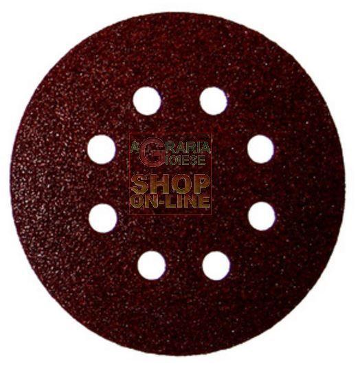 DISCO ABRASIVO VELCRATO CON 8 FORI MM. 125 GR.150 http://www.decariashop.it/accessori-per-elettroutensili/22299-disco-abrasivo-velcrato-con-8-fori-mm-125-gr150.html