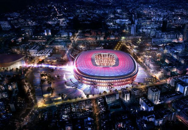 REVEALED: Barcelona unveil first pictures of new Camp Nou