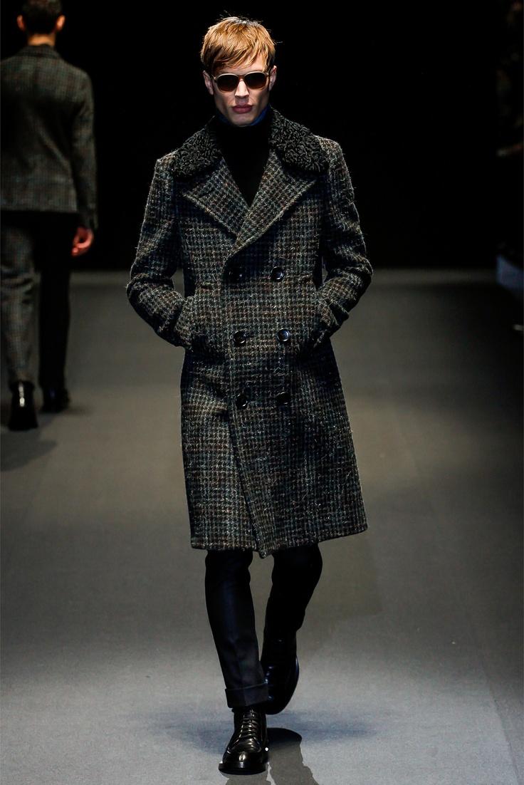 @gucci Milano Moda Uomo Autunno Inverno 2013-14 - Vogue #coat