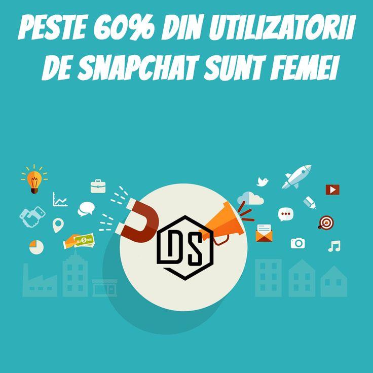 #Snapchat are peste 300 milioane de useri activi în fiecare lună.  #DigitalSuperhero