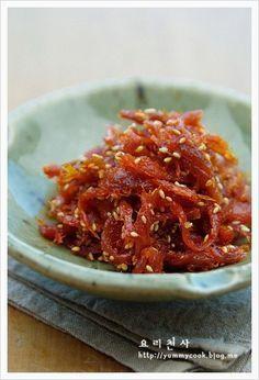 북어장아찌, 두고먹는 맛깔스러운 밑반찬 ♬ – 레시피 | Daum 요리
