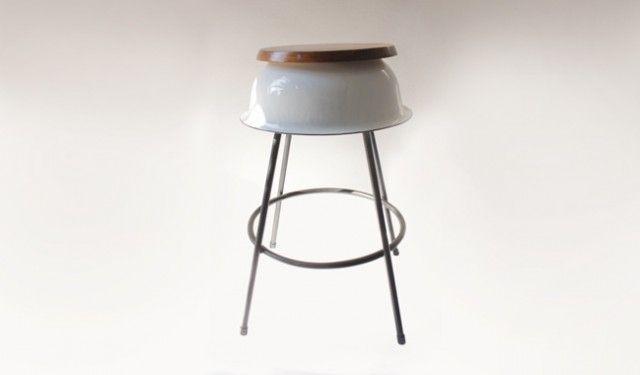A 2nd Life Bar Stool #barstools #furniture #design