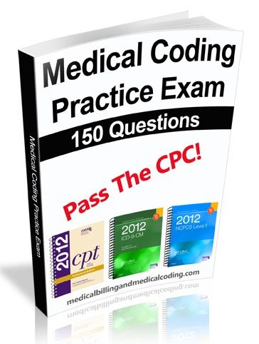 http://www.codingcertification.org/cpc-practice-exam Only $37 for a full 150 Question practice exam.  Includes FULL rationale and even a scantron form - Just like the real deal.Codes Online, Practice Exams, Aapc, Cpc Practice, Exams Today, Medical Codes, Medical Bill, Cpc Exams, Exams Tomorrow