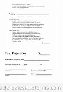 Printable Sample Subcontractor Agreement Form Landlord