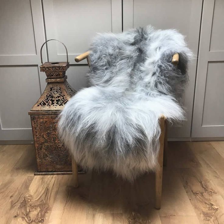 Finest Icelandic Natural Rare Breed Sheepskin - Natural Light Grey – Cowshed Interiors