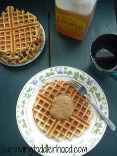 Soft Coconut Flour Waffles {Grain free, Gluten Free, Dairy free, Nut free and Sugar free. GAPS, Paleo and THM Legal}