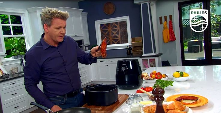 BBQ Glazed Bacon and Eggs Recipe with Gordon Ramsay | Philips Airfryer - BBQ recipe