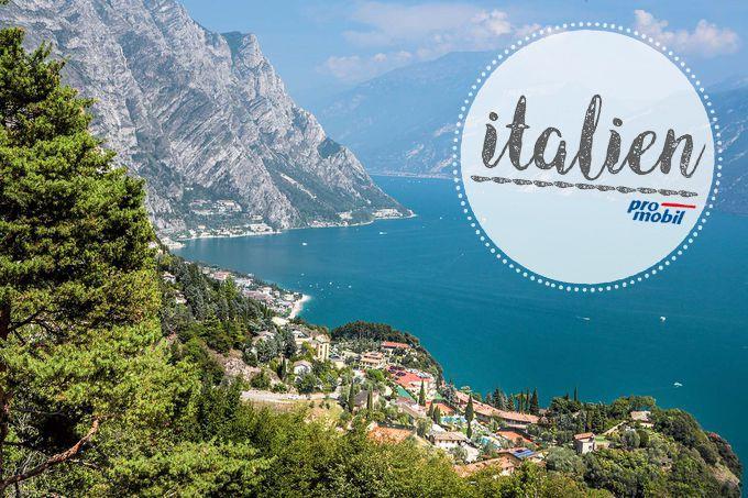 #Wohnmobil-Tour in #Oberitalien Ewig lockt der #Gardasee  Seit Urzeiten ein #Traumziel für Reisende aus dem Norden, hat sich der #Gardasee auch als Dorado für Windsurfer einen Namen gemacht. Wer dagegen Ruhe sucht, kein Problem: Von den Stellplätzen am Ufer ist man schnell in den Bergen.