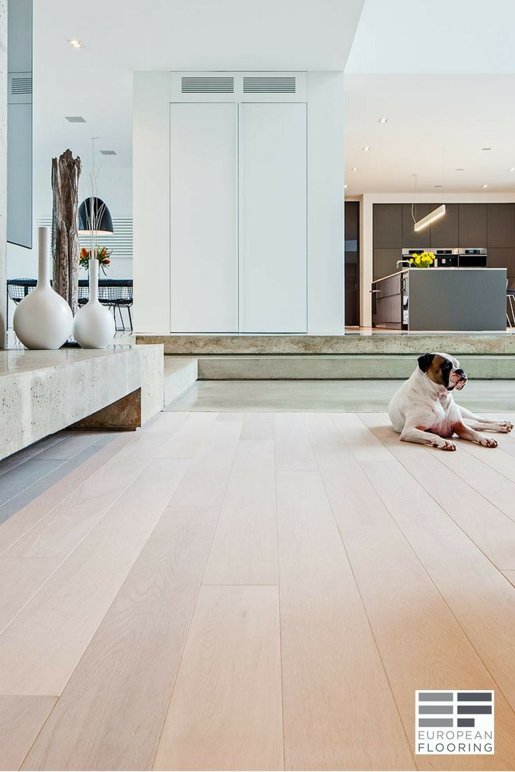The Customer Was Looking A Modern Floor To Suit Very Contemporary Design Driven New Large Custom Built Home