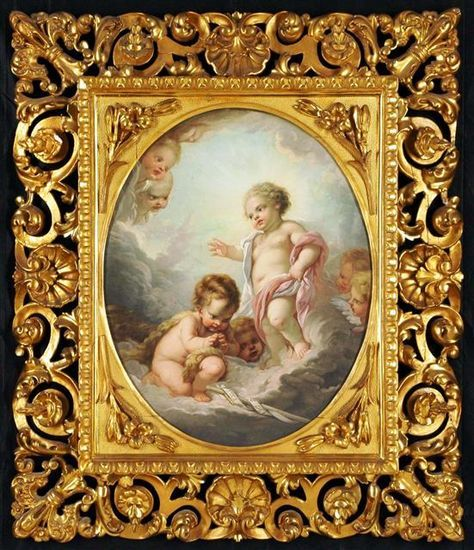 "Francois Boucher on Pinterest | 81 Pins www.pinterest.com474 × 550Buscar por imagen ""Putti amongst Clouds"" Manner of Francois Boucher (French, 1703-1770) francois boucher - Buscar con Google"