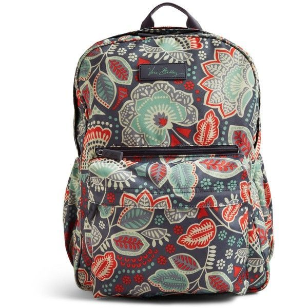 Vera Bradley Lighten Up Grande Backpack in Nomadic Floral ($98) ❤ liked on Polyvore featuring bags, backpacks, nomadic floral, padded bag, backpacks bags, floral rucksack, water resistant backpack and vera bradley - handbags, crochet, gucci, fendi, spring, gucci purse *ad