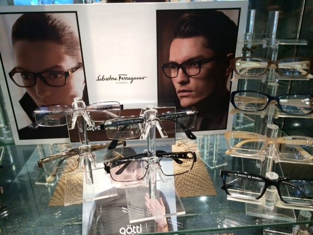 Come check out our Salvatore Ferragamo frames!