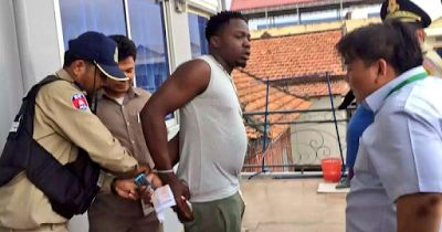 SHOCKING!!! 19 Nigerians have been arrested by Cambodia Immigration Police for illegally working without work permits
