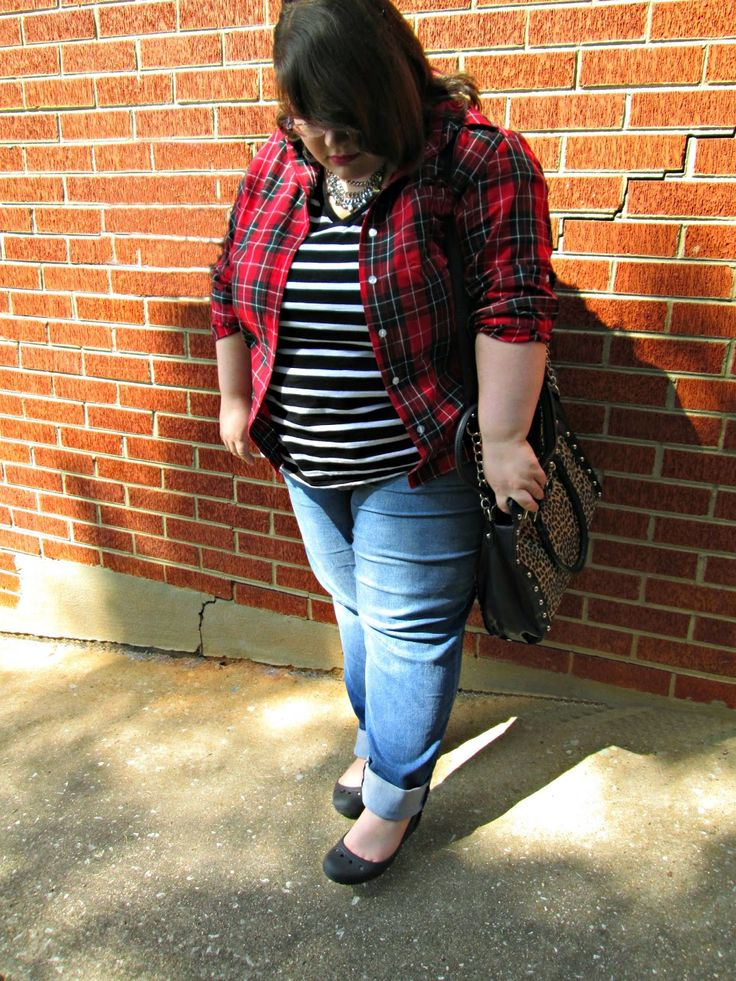 Plus Size OOTD: Pattern Mixing Pro #plussizefashion