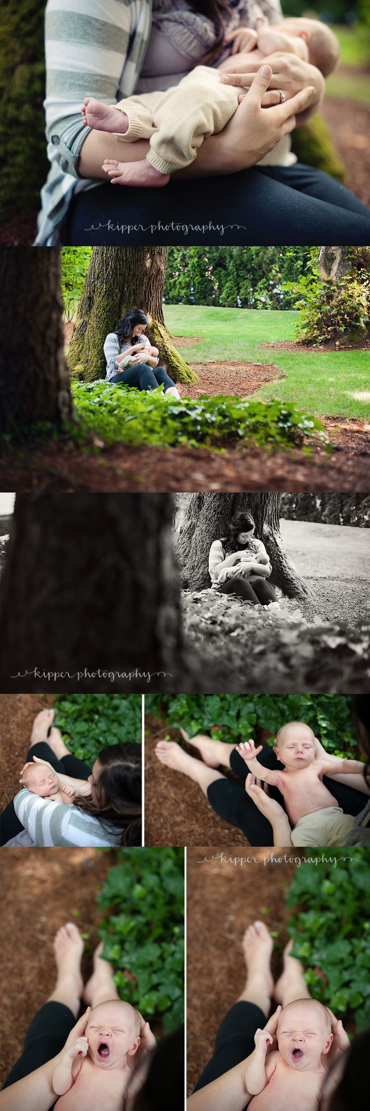 Breastfeeding outdoor photo shoot. I would love to do this!
