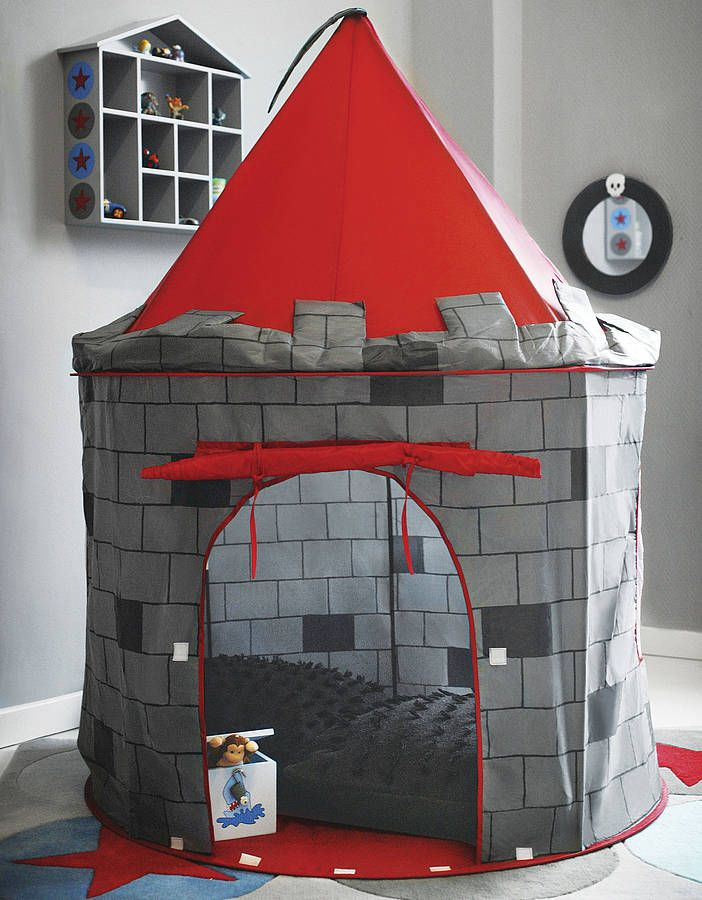 This fantastically designed red and grey play tent is a perfect fortress for any little aspiring knight! £29.95