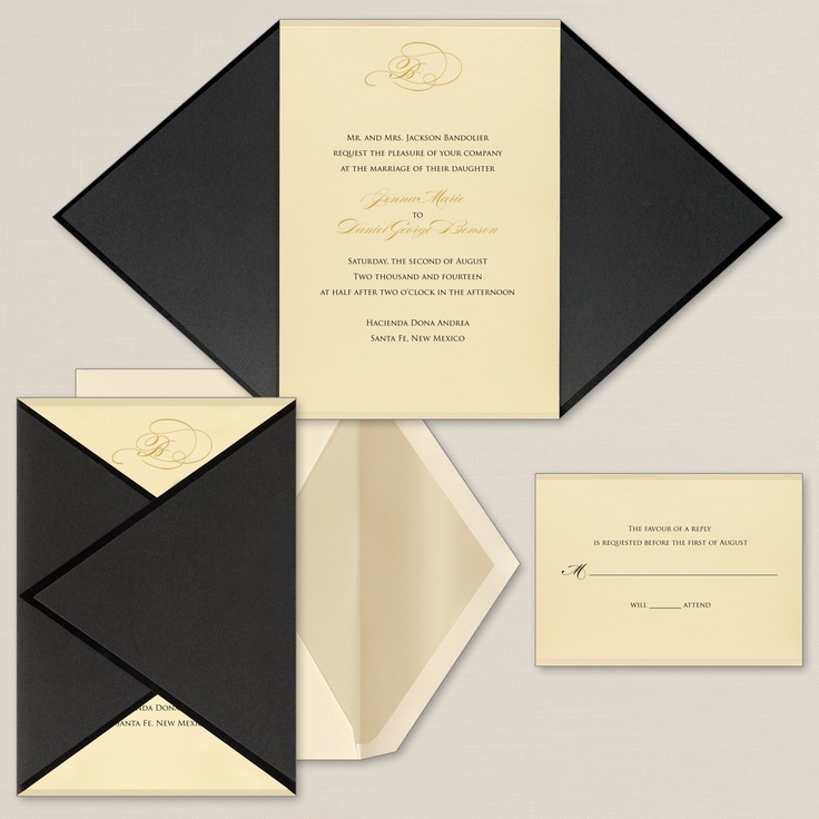Wrapped in Love Wedding Invitation exclusivelyweddings