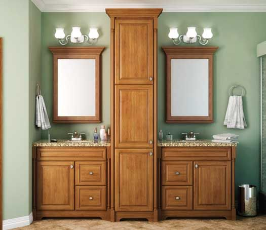 Starmark Cabinetry Not This Layout But The Combo Vanity