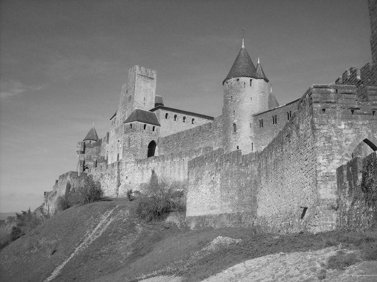 Mura nei pressi della Porte d'Aude - Carcassonne