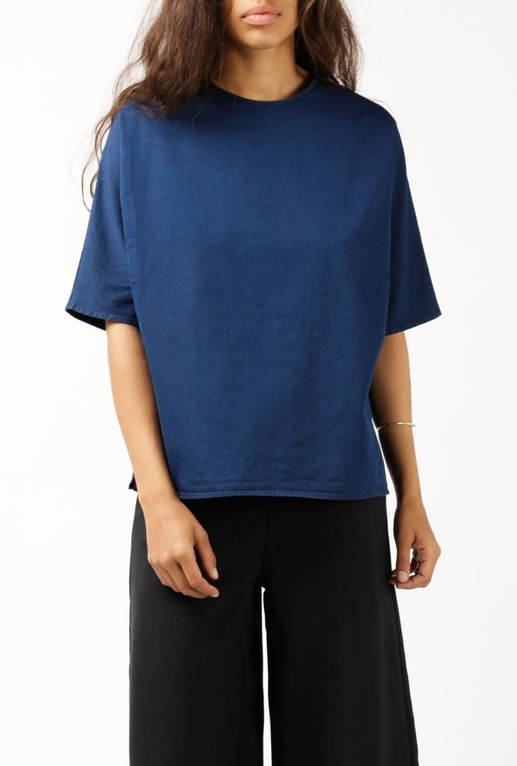 Vera Denim Top by Norse Projects for Sale at Azalea