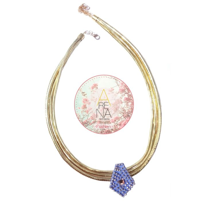 Collar Manantial disponible en www.linio.com.ve ❤ Recuerda que por este mes  recibes gratis por la compra de cualquiera de nuestros accesorios una hermosa bolsa de regalo! Si quieres conocer más de nuestra propuesta en diseño de accesorios, escríbenos a arenabyastrid@gmail.com #necklace