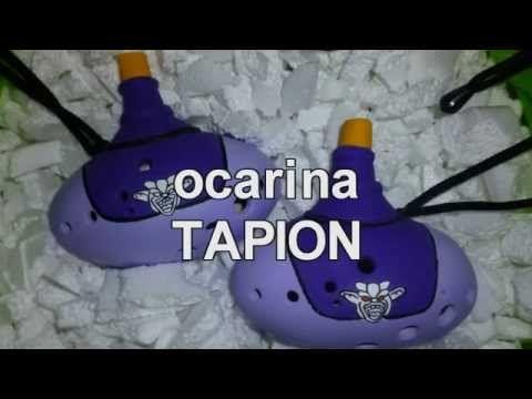 TAPION OCARINA PERU SAKURA WAYTA - YouTube