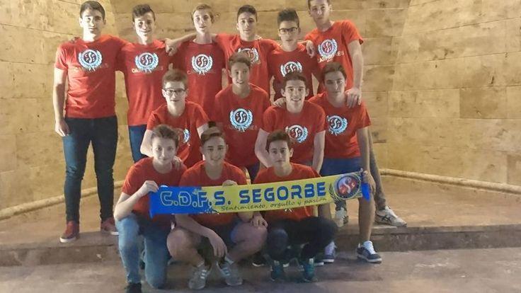 RESULTADOS ESCUELA CDFS SEGORBE FIN DE SEMANA 7/8 MAYO 2016 - tribuna segorbina