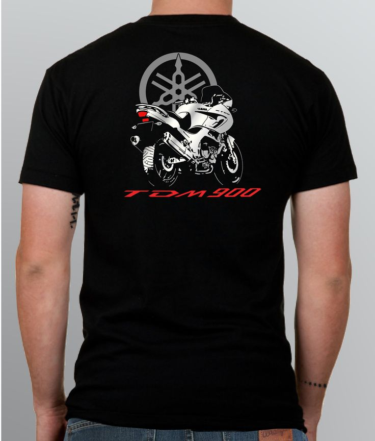 Yamaha TDM 900 t-shirt CUSTOM ORDER by BURNtheBEANS Contact us for details