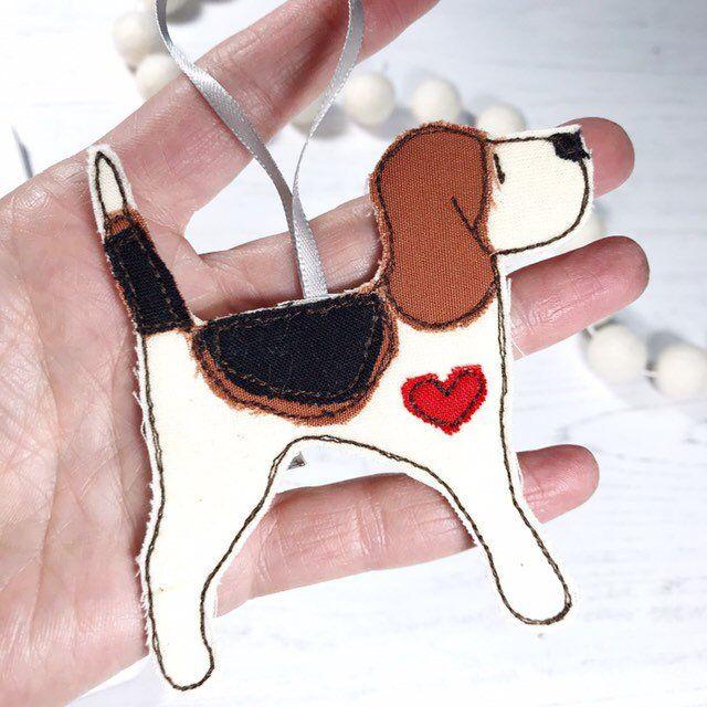 Beagle Decoration Fabric Ren And Thread Beagle Gifts Beagle