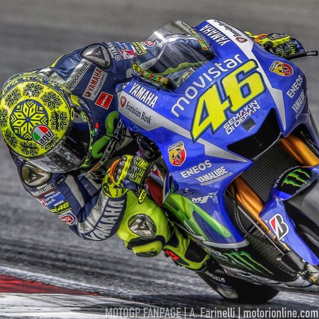 Valentino Rossi. Sepang test 2015