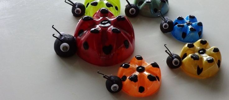You Can Still Put Old Plastic Bottles To Better Use  ladybugs