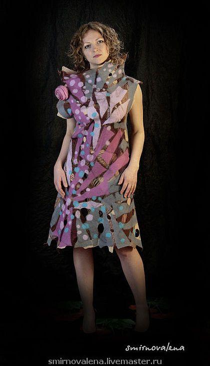 """Платья ручной работы. Ярмарка Мастеров - ручная работа Платье """"Розовый шоколад"""". Handmade."""