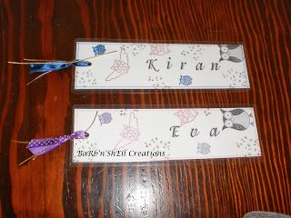 Stampin' Up Aviary, Punch Bunch, Owl Together Now, Confetti Bookmarks - made by Shell