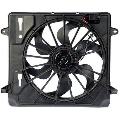 Dorman 620-055 Radiator Fan Assembly - Black