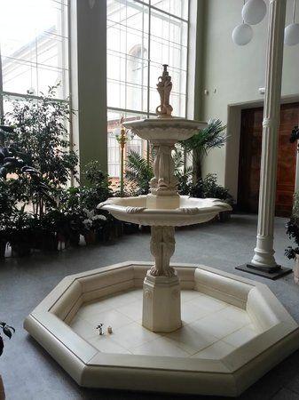 Palais de Marbre - 6 Quai du Palais - Saint Petersbourg - Construit de 1768 à 1785 par l'architecte. Antonio Rinaldi - Jardin d'Hiver.