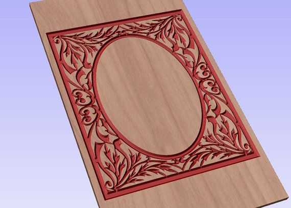Ornament vector file for cnc V-bit carving (digital file).  This file can be applied to any program CNC like Artcam and Vectric Aspire.  Vector  #digital2cre8 #vcarve #cncrouter #cncfile #epsfile #vectorimage #woodcarving #digitalsupplies #homedecor #ornament
