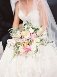 Timeless + Elegant Cleveland City Hall Wedding - Style Me Pretty