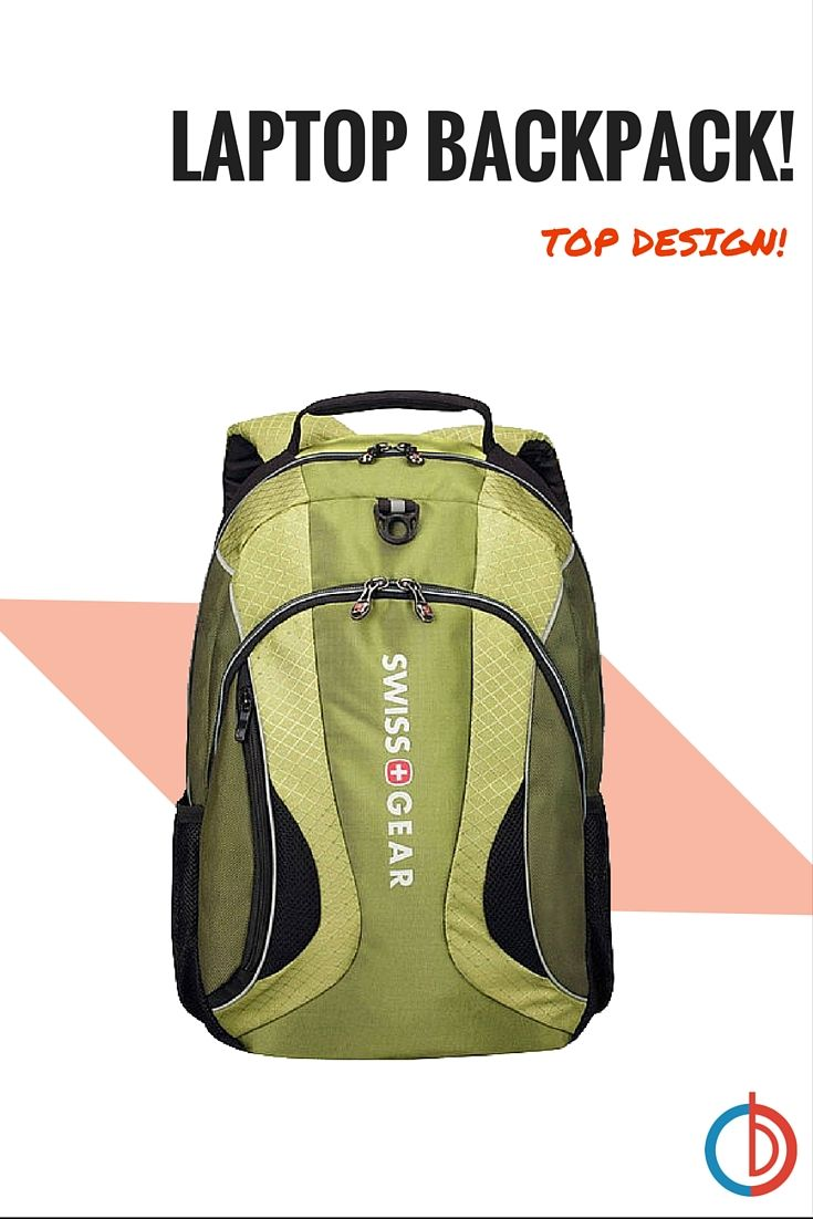 """Bring your laptop anywhere now with the The Mercury Deluxe 16"""" Laptop Backpack! The Wenger Swissgear comes with a built in essential organizer and padded compartments for a laptop and notebooks. This backpack also features a shock absorb shoulder strap, air-flow back padding, padded carrying handle, and more!"""