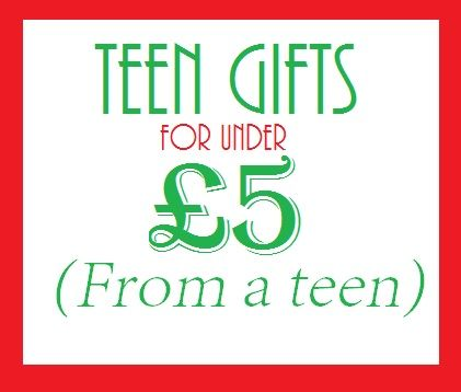gifts-under-£5 Christmas / Birthday gifts for teens, for under £5