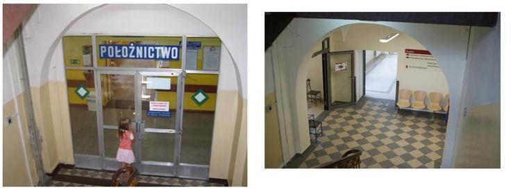 korytarz II piętro - zakończenie remontu 2012 rok