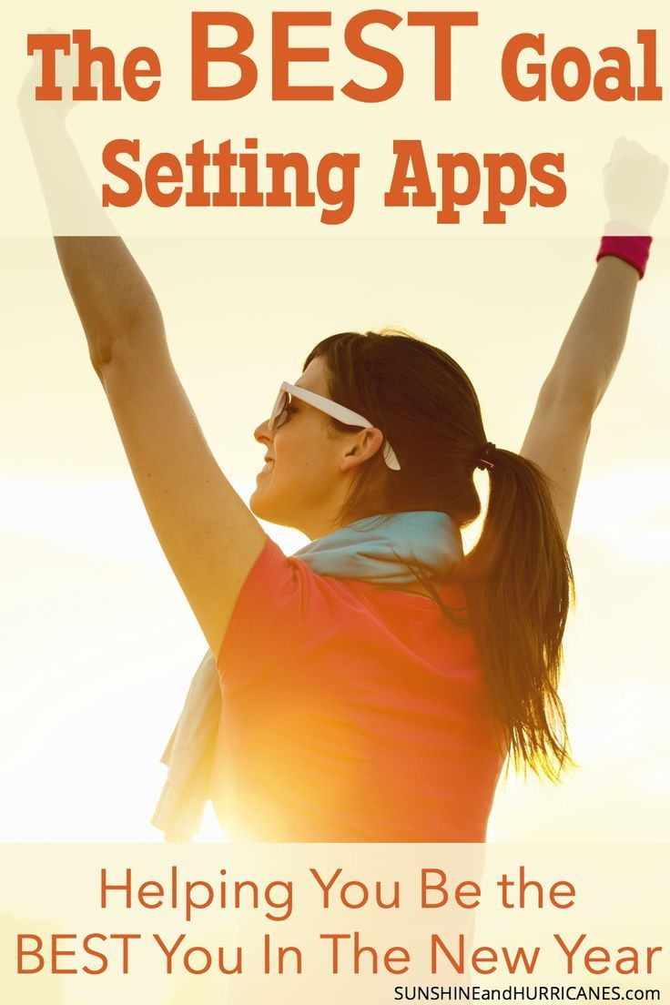 people set goals all the time, but usually less than 10% actually achieve them. To greatly improve your odds, take advantage of all the new technology out there to help you succeed. These goal setting apps are some of the best we've found when it comes to everything from fitness to organization, meal planning, finances and more. SunshineandHurricanes.com