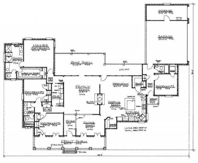 653392 acadian with see through fireplace house plan Acadian floor plans