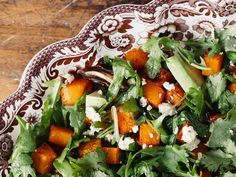 Roasted Butternut Squash & Arugula Salad With Fire & Flavor Salmon Rub Prep Time: 20 minutes Cook Time: 25 minutes Yields: 6 side dish Featured Product: Salad: 2 ½ pound butternut squash 1 tablespoon olive oil 1½ teaspoons Fire & Flavor's Salmon Rub ½ teaspoon salt 5 ounces baby arugula 1 avocado, peeled and cut into …
