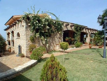 A villa in Terrasini, Sicily