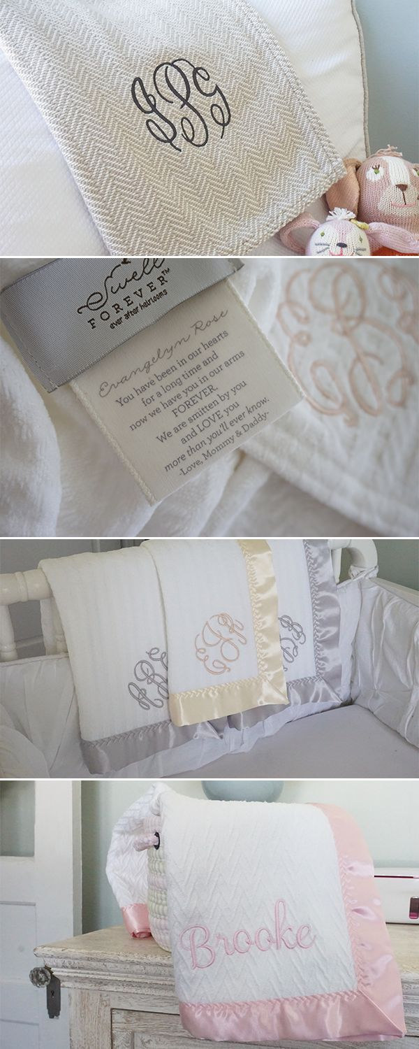115 best forever blanket baby images on pinterest blankets heirloom forever blankets by swell forever handmade beautiful baby gifts with unique personalized message negle Image collections
